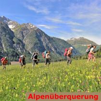 Geführte Alpenüberquerung E5 Oberstdorf Meran geführt Bergführer Alpinschule Allgäu Alpine Zeiten