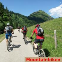 Mountainbiken geführt Bergführer Mountainbike Guide Alpinschule Allgäu Alpine Zeiten