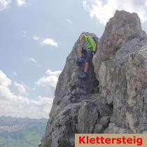 Klettersteige geführt Bergführer Alpinschule Allgäu Alpine Zeiten