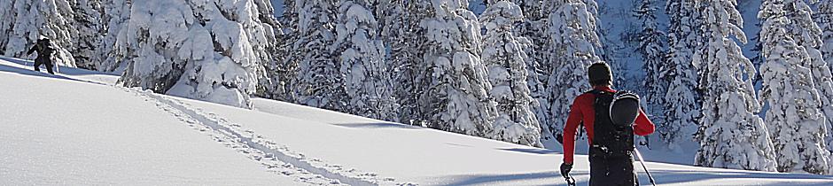 Geführte Skitouren, Alpinschule, Bergführer, Allgäu, Oberstdorf, Alpine Zeiten 11