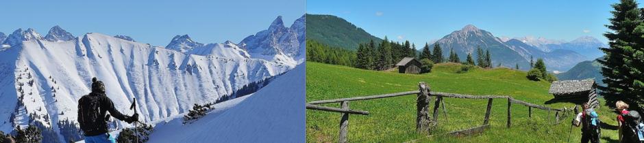 Skitourenkurs, Tiefschneekurs, Lawinenausbildung, Lawinenkurs, Lawinenseminar, Allgäu, Oberstdorf, Alpinschule, Bergführer, Alpine Zeiten, Onlinebuchung