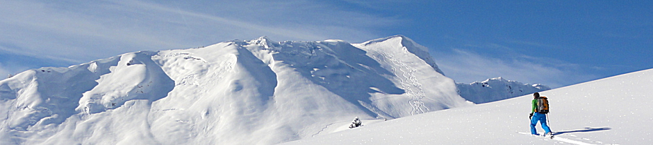 Skitourenkurs, Tiefschneekurs, Lawinenausbildung, Lawinenkurs, Lawinenseminar, Allgäu, Oberstdorf, Alpinschule, Bergführer, Alpine Zeiten, Buchungsformular