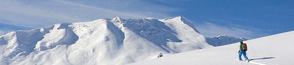 Skitourenkurs, Tiefschneekurs, Lawinenausbildung, Lawinenkurs, Lawinenseminar, Allgäu, Oberstdorf, Alpinschule, Bergführer, Alpine Zeiten, Galerie